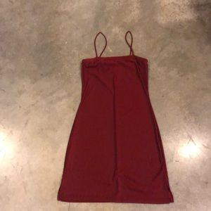 Dresses & Skirts - Sexy Little Dark Red Dress - Size Small